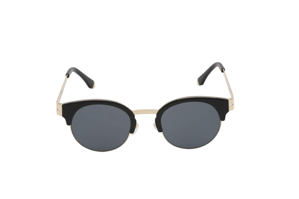 Flexible unisex round sunglasses Retro