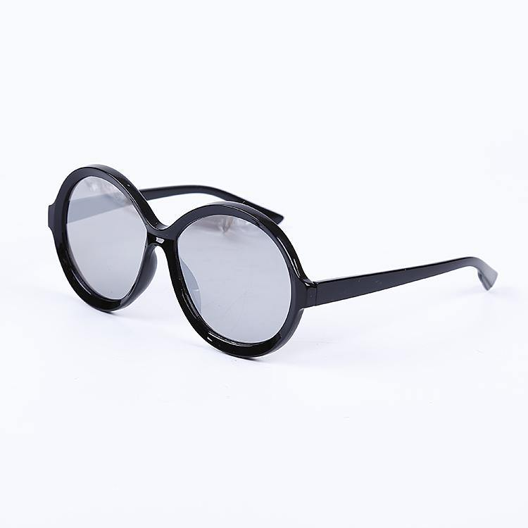 "Signature Designer Sunglasses Model ""Vintage"" Silver Black By: The Ever Collection"