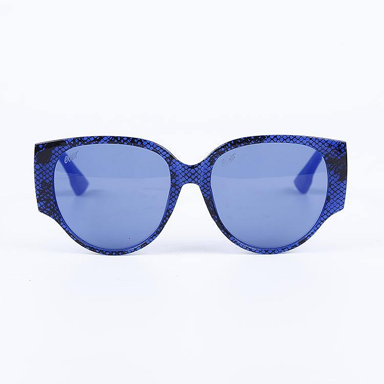 "Signature Designer Sunglasses Model ""Nova"" Blue By: The Ever Collection"