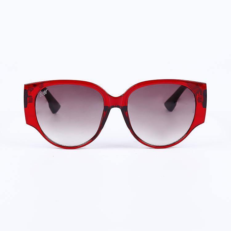 "Signature Designer Sunglasses Model ""Nova"" Red By: The Ever Collection"