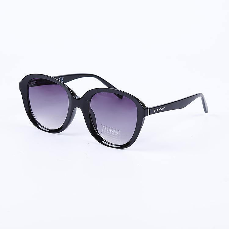 "Signature Designer Sunglasses Model ""Duchess"" Black & Purple By: The Ever Collection"