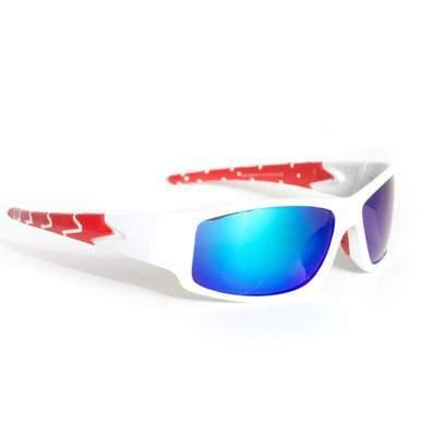 "Sports Sunglasses Designer Sunglasses Model ""Dragon Tail"" White By: The Ever Collection"
