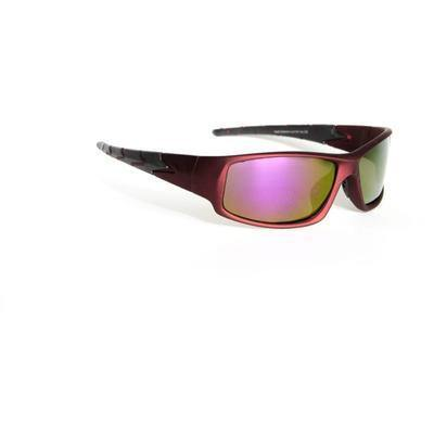 "Sports Sunglasses Designer Sunglasses Model ""Dragon Tail"" Red By: The Ever Collection"