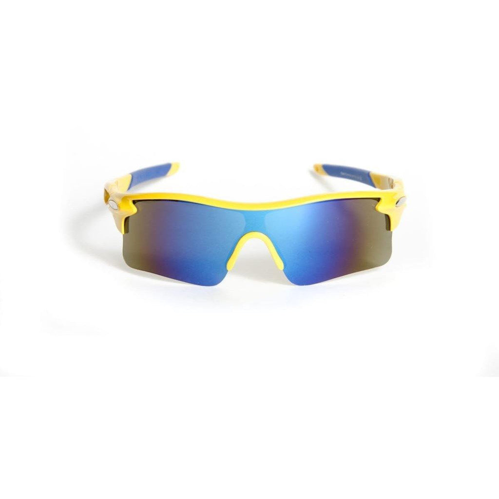 "Polarized Sunglasses Designer Sunglasses Model ""The Runner"" Yellow By: The Ever Collection"