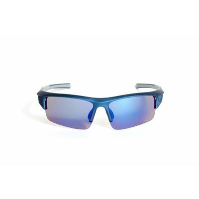 "Sports Sunglasses Designer Sunglasses Model ""Total Recall"" Blue By: The Ever Collection"