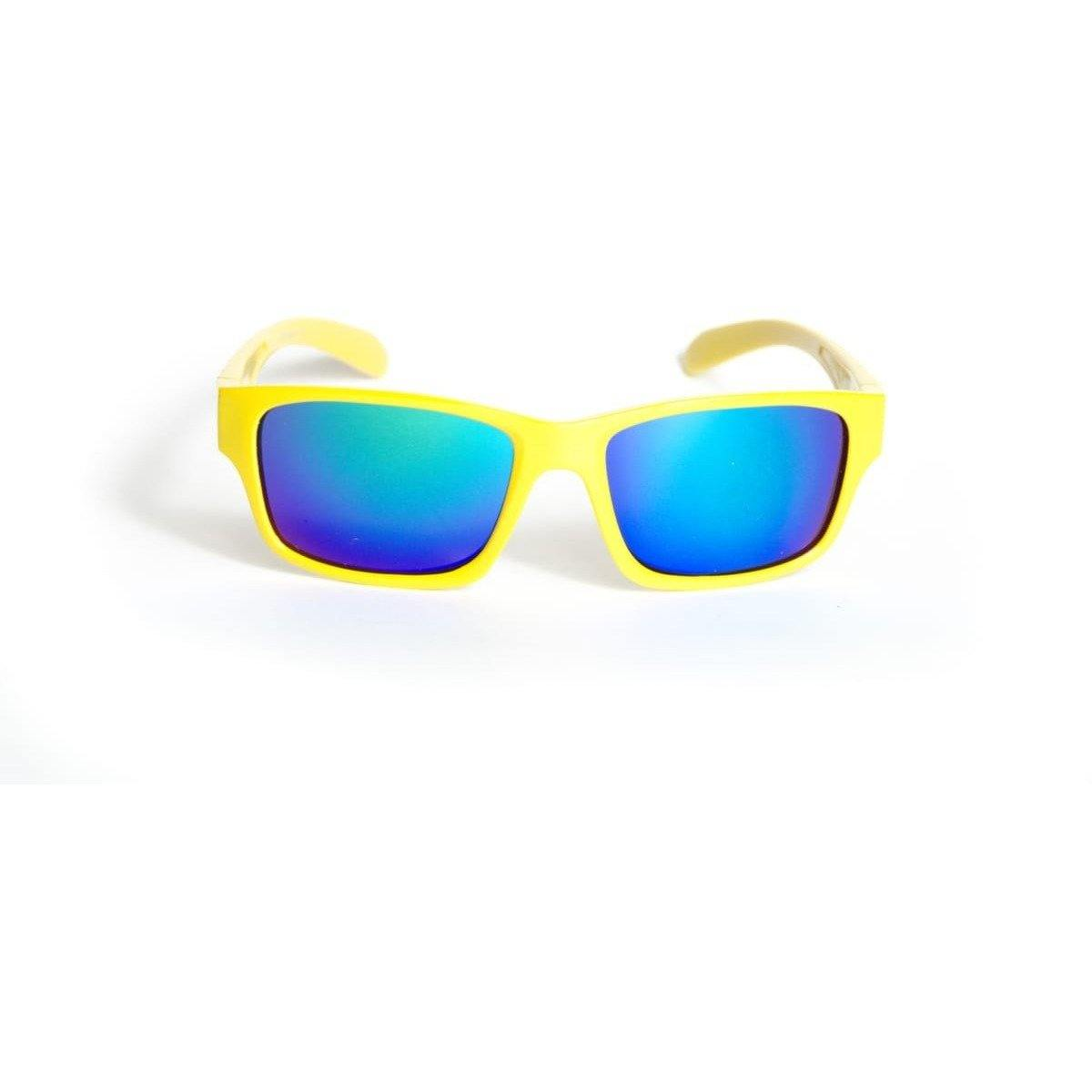 "Sports Sunglasses Designer Sunglasses Model ""Van Man"" Yellow By: The Ever Collection"