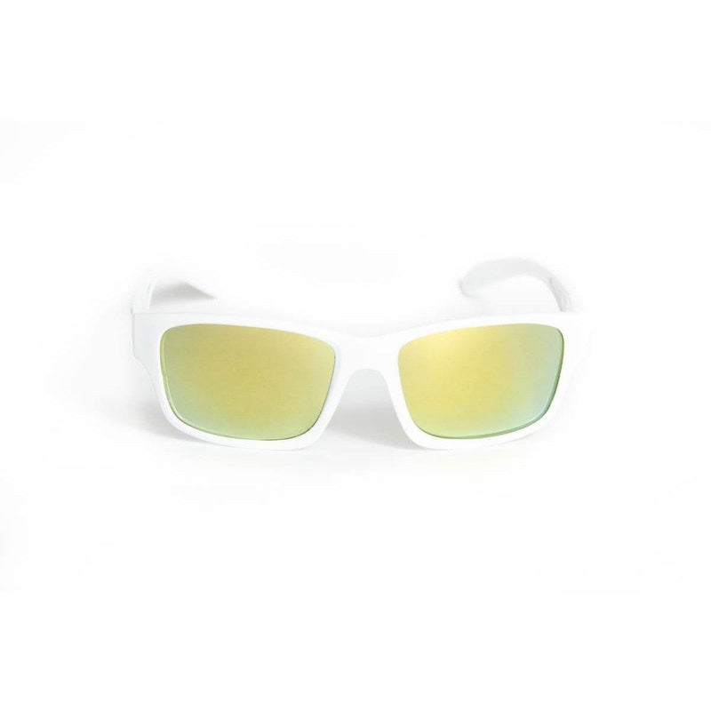 "Sports Sunglasses Designer Sunglasses Model ""Van Man"" White By: The Ever Collection"