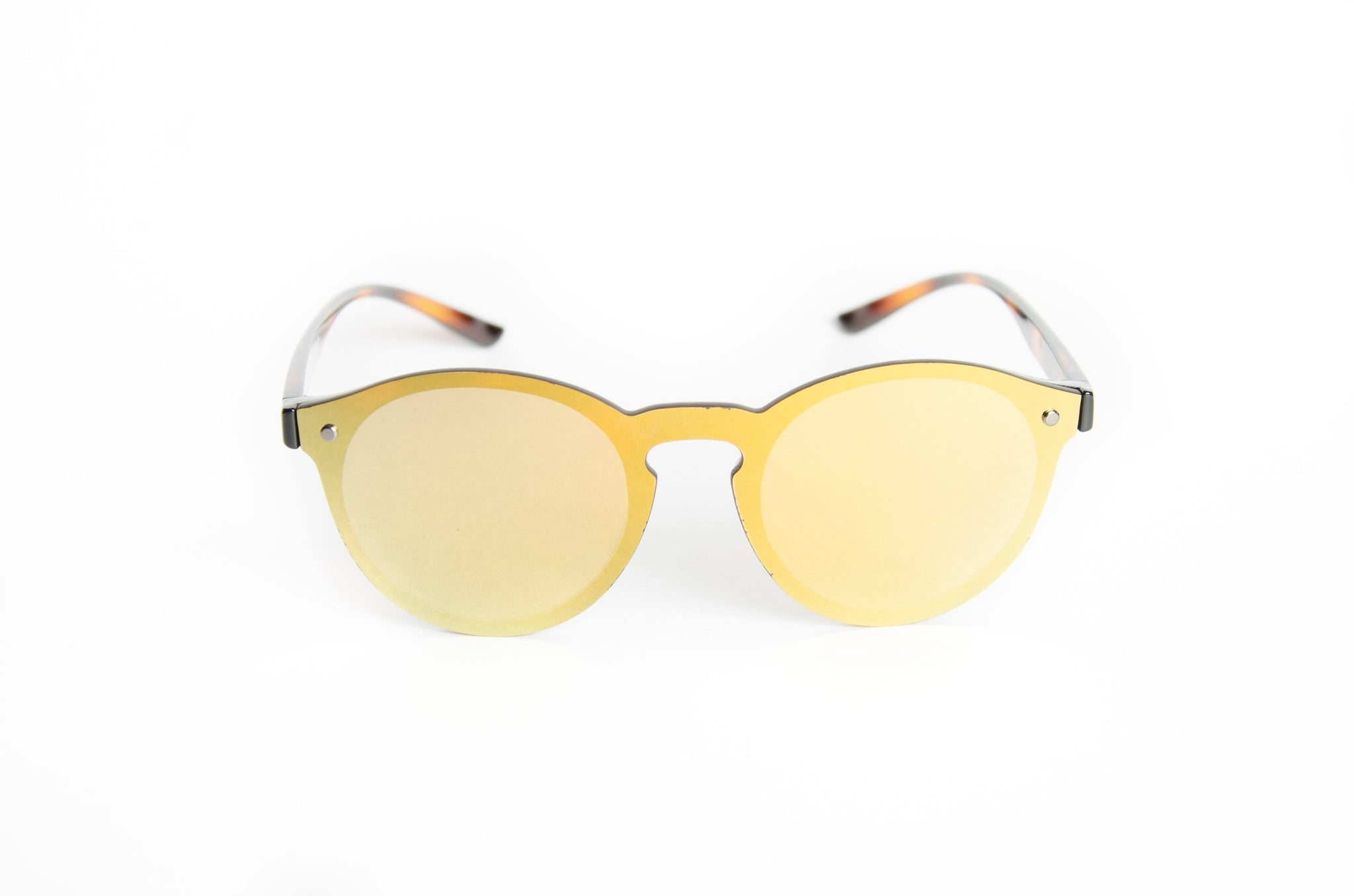 "Revo Coated Collection Designer Sunglasses Model ""Simba Tail"" Yellow By: The Ever Collection"