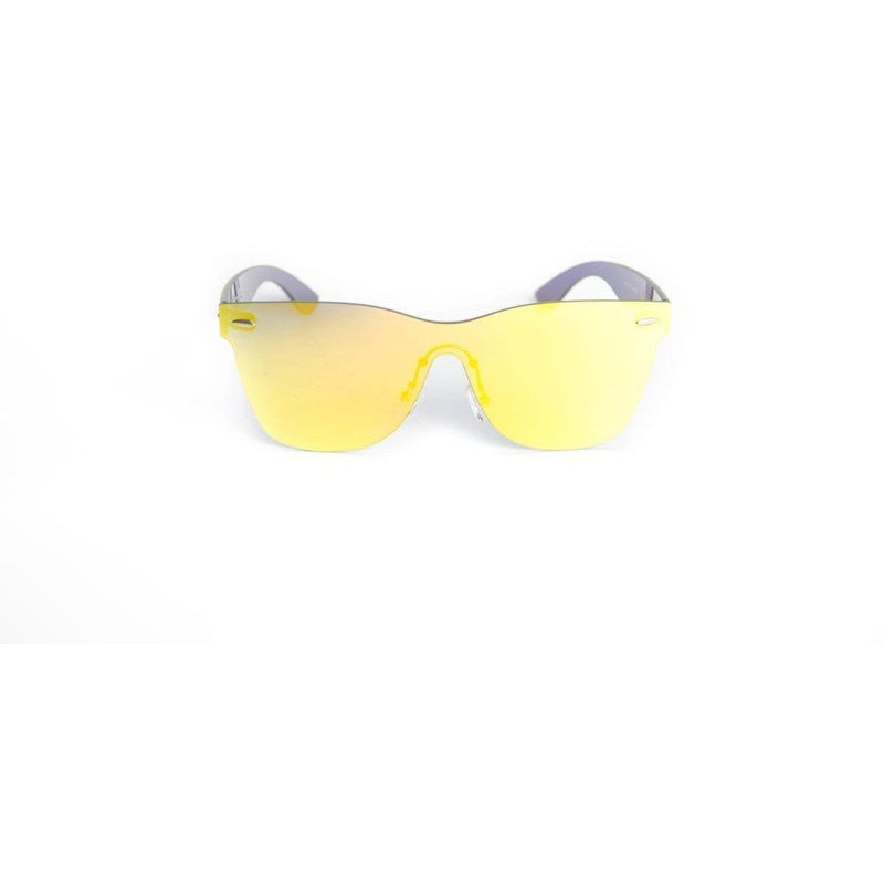 "Specialty Coated Collection Designer Sunglasses Model ""Emerald City"" Yellow By: Ever Collection NYC"
