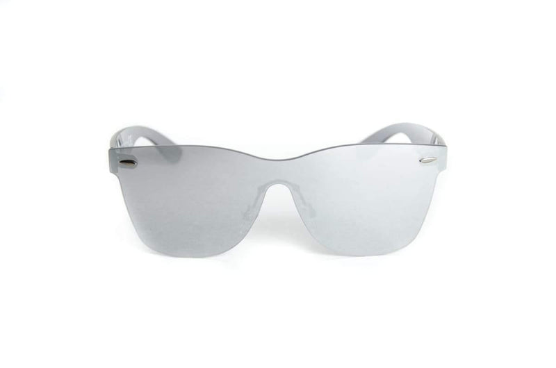 "Specialty Coated Collection Designer Sunglasses Model ""Emerald City"" Silver By: Ever Collection NYC"