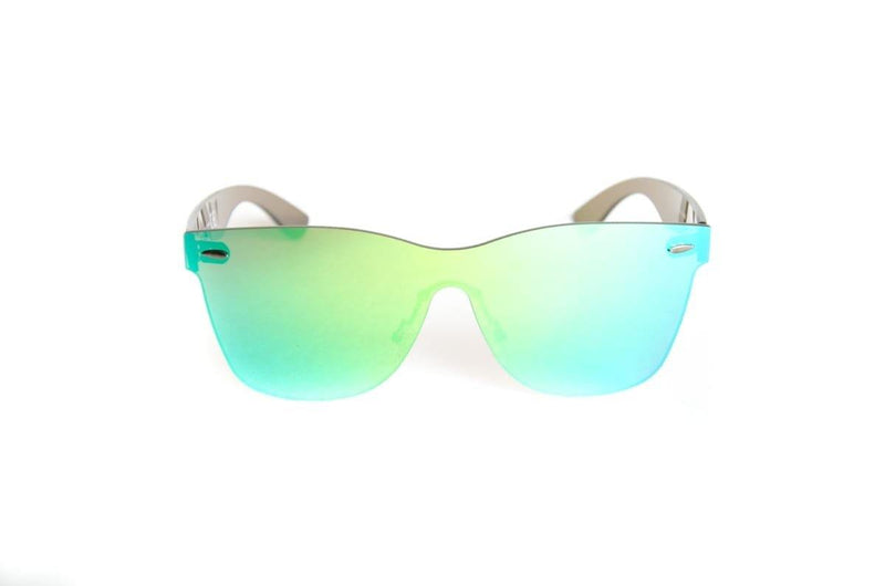 "Specialty Coated Collection Designer Sunglasses Model ""Emerald City"" Green By: Ever Collection NYC"