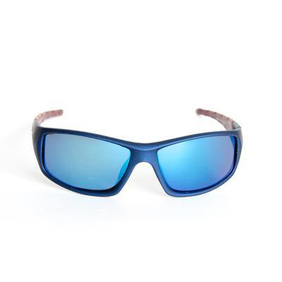 "Sports Sunglasses Designer Sunglasses Model ""Dragon Tail"" Blue By: The Ever Collection"