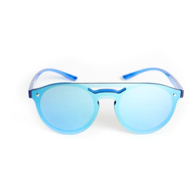 "Special Coated Collection Designer Sunglasses Model ""Pretty Boy"" Blue By: Ever Collection NYC"