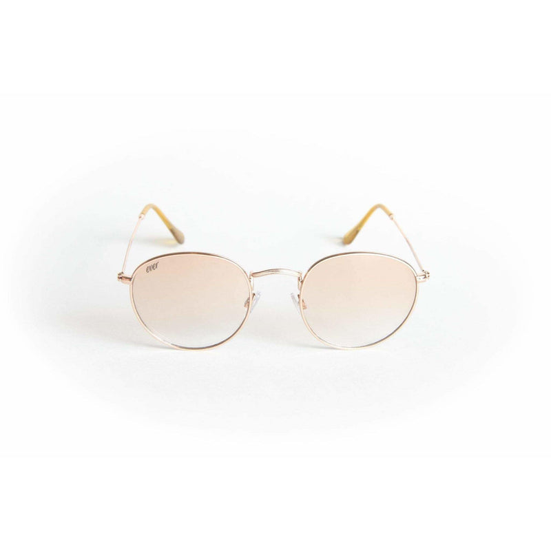Unisex round metal sunglasses Moon Child - The Ever Collection
