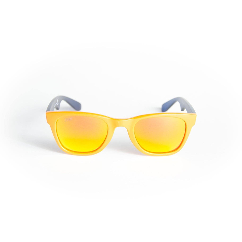 "Sports Sunglasses Designer Sunglasses Model ""Duck Sauce"" Yellow By: The Ever Collection"