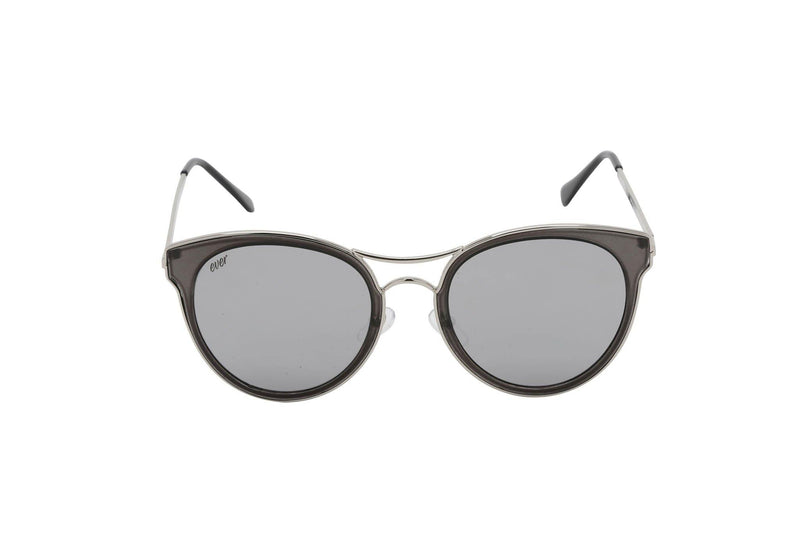 Unisex round acetate sunglasses Semi