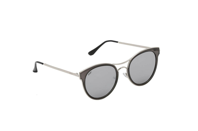 Unisex round acetate sunglasses Semi - The Ever Collection