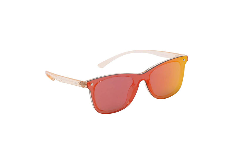 "Revo Coated Collection Designer Sunglasses Model ""Silver Surfer"" Red By: The Ever Collection"
