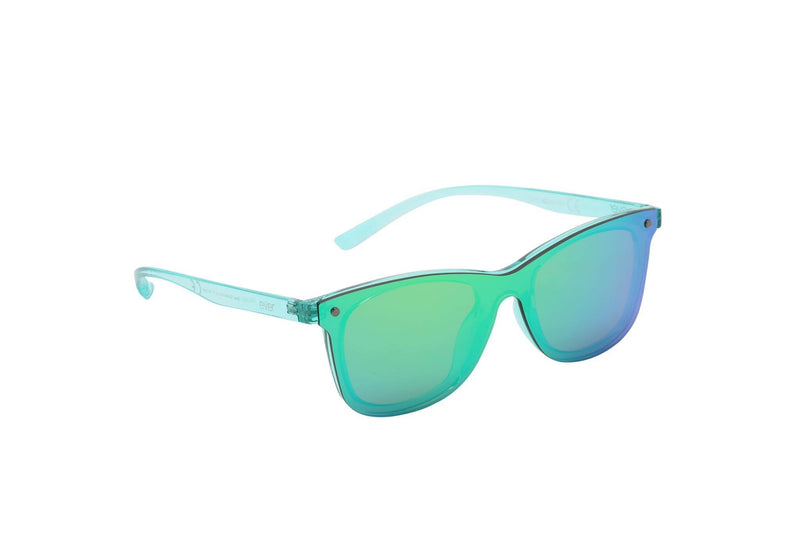 "Revo Coated Collection Designer Sunglasses Model ""Silver Surfer"" Green By: The Ever Collection"