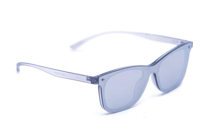 "Revo Coated Collection Designer Sunglasses Model ""Silver Surfer"" Silver By: The Ever Collection"