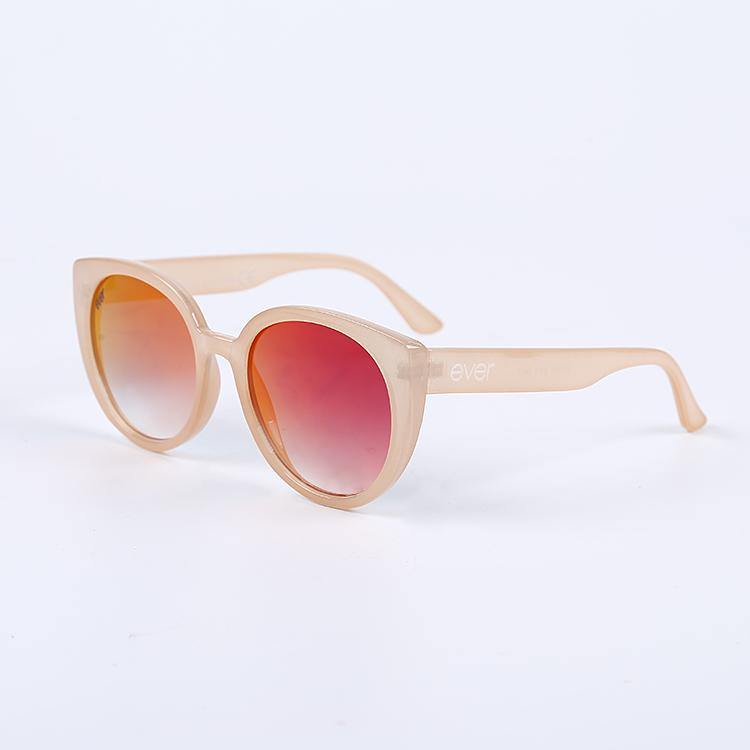 "Signature Designer Sunglasses Model ""Ombre"" Peach By: The Ever Collection"