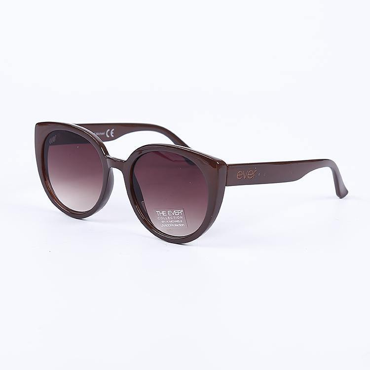 "Signature Designer Sunglasses Model ""Ombre"" Brown By: The Ever Collection"