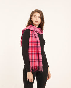 Pimlico Pink Lambswool Scarf