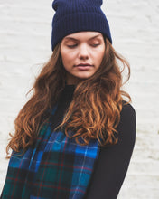 Load image into Gallery viewer, Navy Cashmere Beanie
