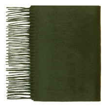 Load image into Gallery viewer, Hector Powe Army Green Cashmere Scarf