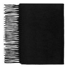 Load image into Gallery viewer, Hector Powe Black Cashmere Scarf