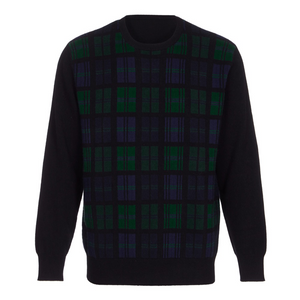 Hector Powe Black Watch Cashmere Jumper