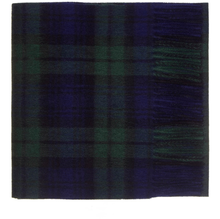 Load image into Gallery viewer, Black Watch Tartan Cashmere Scarf