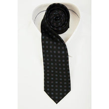 Load image into Gallery viewer, Madder Green Blossom Tie