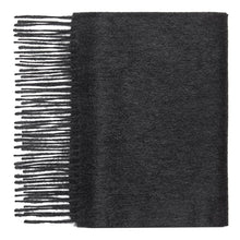 Load image into Gallery viewer, Hector Powe Charcoal Cashmere Scarf