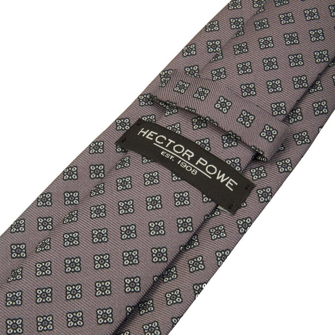 Steel Grey Diamond Tie