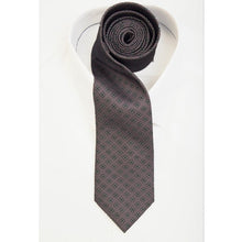 Load image into Gallery viewer, Steel Grey Diamond Tie