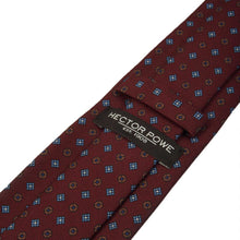 Load image into Gallery viewer, Maroon Double Motif Tie