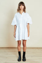Load image into Gallery viewer, Asymmetric Shirt Dress