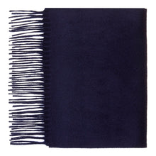 Load image into Gallery viewer, Hector Powe Navy Cashmere Scarf