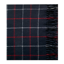 Load image into Gallery viewer, Hector Pow Navy Varsity Cashmere Scarf