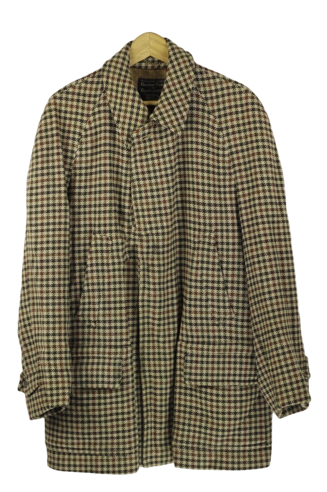 Hector Powe x Burberry Wool Overcoat