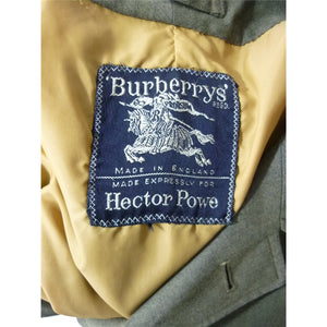 Hector Powe x Burberry Car Coat