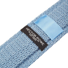 Load image into Gallery viewer, Pale Blue Knitted Tie