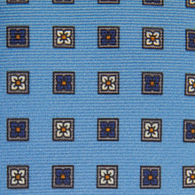 Load image into Gallery viewer, Cornflower Blue Blossom Tie