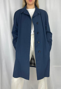 Hector Powe x Burberry Commuter II Overcoat