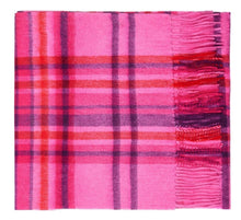 Load image into Gallery viewer, Pimlico Pink Lambswool Scarf