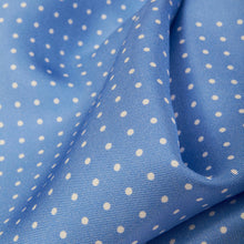 Load image into Gallery viewer, Pale Blue Spotted Pocket Square