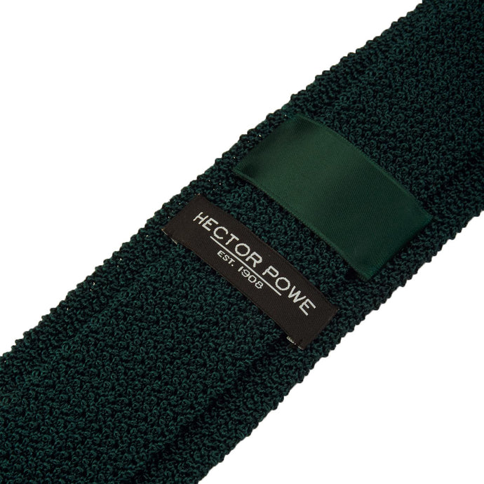 Racing Green Knitted Tie