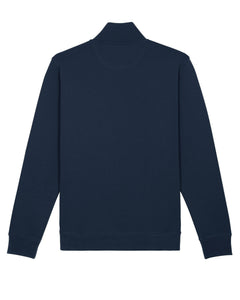 Quarter Zip Organic Sweatshirt - Navy