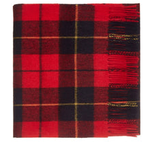 Load image into Gallery viewer, Wallace Tartan Lambswool Scarf